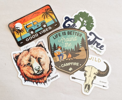 Sawyer Sticker 5-Pack - Sawyer