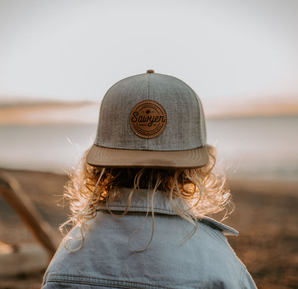 Outfitter Leather Patch Hat