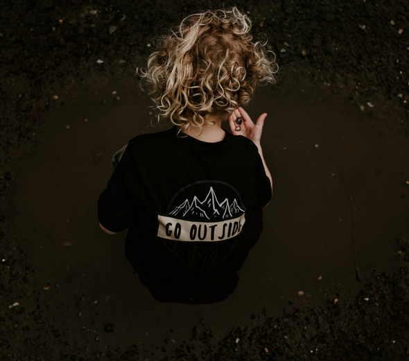 Go Outside Tee - Black - Sawyer