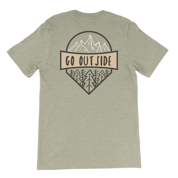 Go Outside Tee - Hth Stone - Sawyer