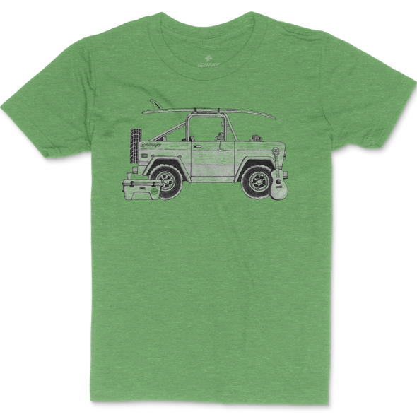 Bronco Triblend Tee