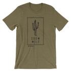 Grow Wild Tee - Olive Triblend