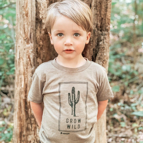 Grow Wild Triblend Tee