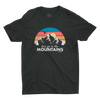 Let's Go To The Mountains Tee - Sawyer
