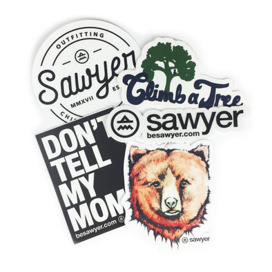 Sawyer Sticker 4-Pack - Sawyer