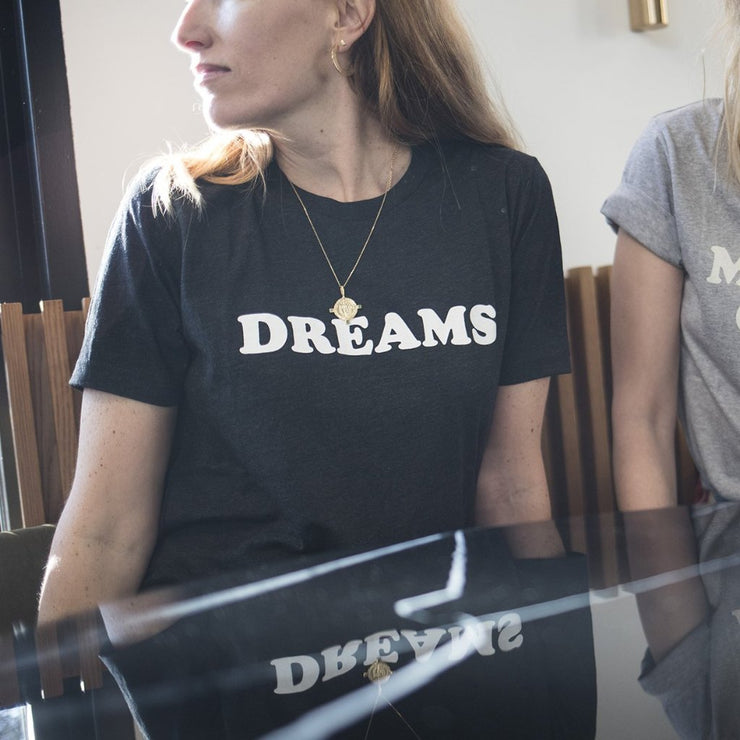 Tshirt DREAMS gris foncé - MyTravelDreams