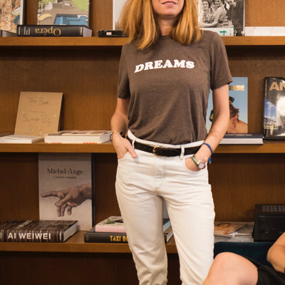 Tshirt DREAMS châtaigne - MyTravelDreams