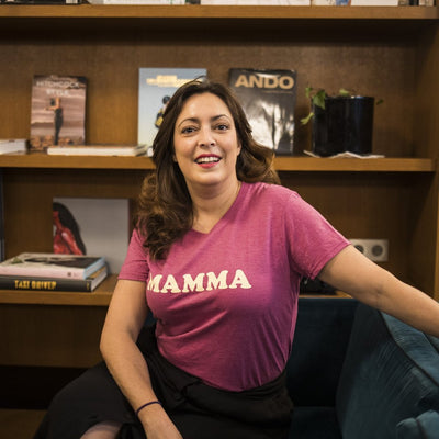 Tshirt MAMMA fuchsia chiné - MyTravelDreams