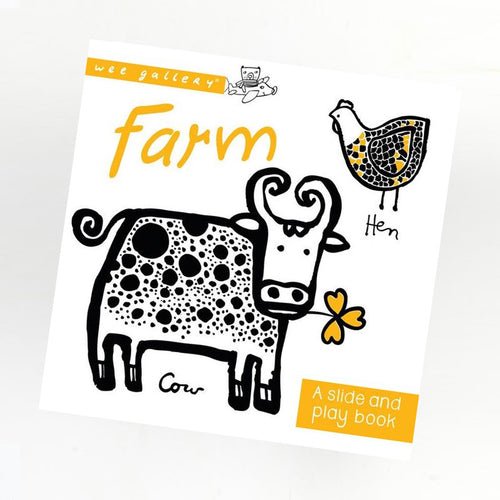Wee Gallery Slide & play boekje | Farm