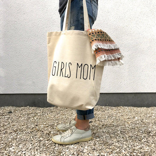 Katoenen draagtas 'Tote Bag' - Girls Mom