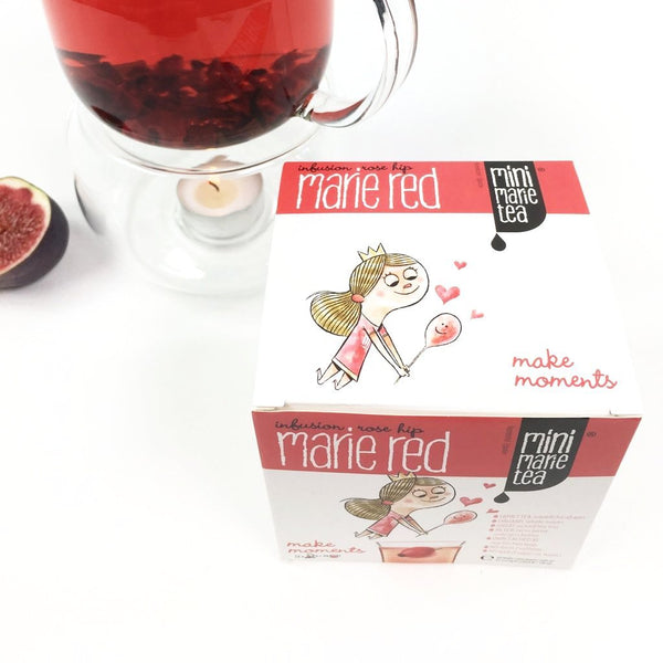Mini Marie Tea Red 12 XL Bags