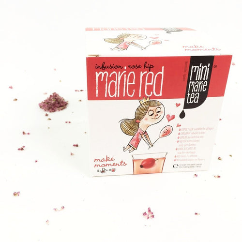 Familie thee Mini Marie Tea Red 12 XL theezakjes