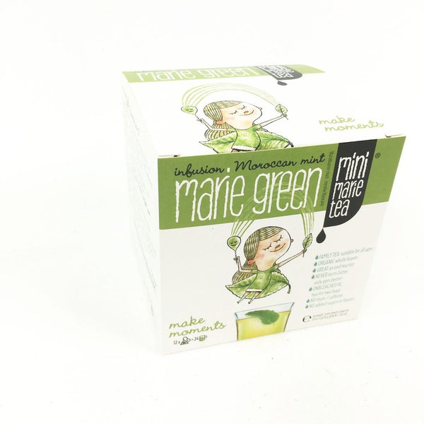 Familie thee Mini Marie Tea Green 12 XL theezakjes