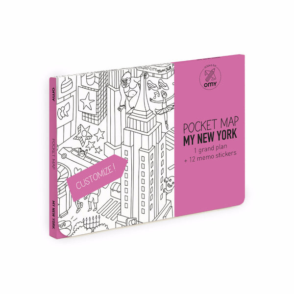 Pocket Map | 'My New York'
