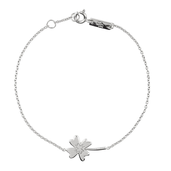 Armband Mama | 'Wishing you all the luck in the world' - Silver
