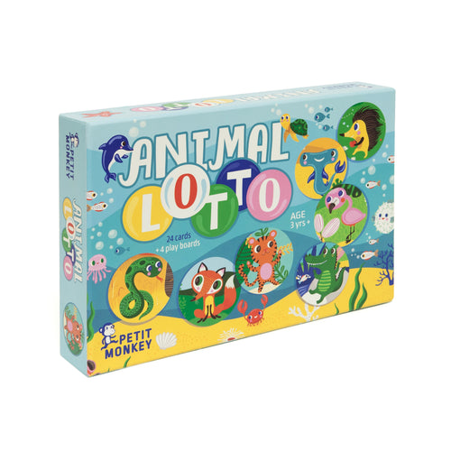 Spel Animal Lotto