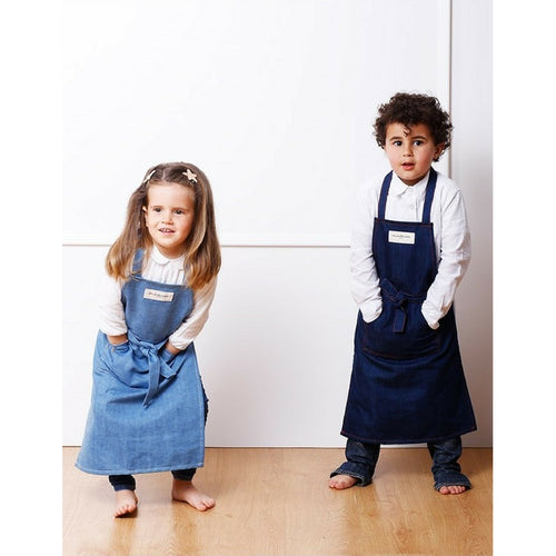 Kids Schort | Myhra - Denim clair