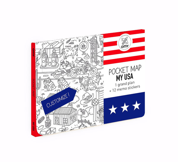 Pocket Map | 'My USA'