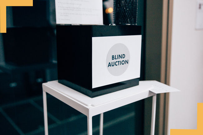 Blind Auction Results - The Creators' Room Exhibition 2019