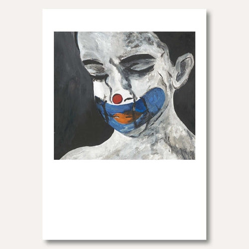 'Speak For Me - Muted Clown Boy' by Emma Kim
