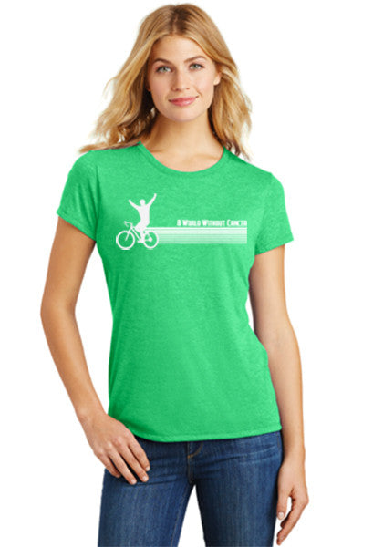 Retro Green T Shirt (Women's)