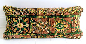 Double-sided Vintage Lumbar Pillow