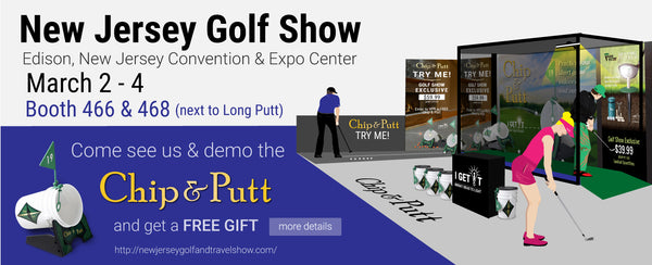 New Jersey North Coast Golf Show, Edison Convention & Expo Center 466 468