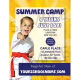 "Summer Camp 3""x4"" Ad Cards (Concept 2)"