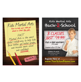 "Back To School 3""x4"" Ad Cards"