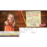 "Back To School 6""x11"" Postcards"