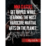 "Mixed Martial Arts 3""x4"" Ad Cards"