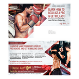 "Boxing 6""x11"" Postcards"