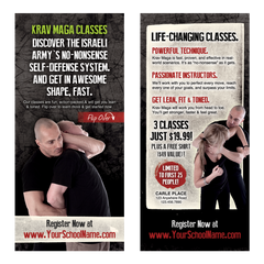 "Krav Maga 4""x9"" Take-Ones"