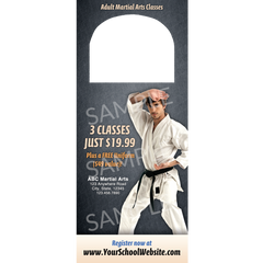 Adult Martial Arts Door Hangers