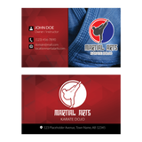 Concept 1- Business Cards- BJJ
