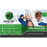 Concept 4- Business Cards- BJJ