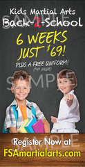 Back To School Outdoor Banner