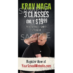 Krav Maga Window Cling