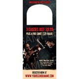 Mixed Martial Arts Door Hangers