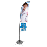 Kids Martial Arts Feather Flag (Concept 1)