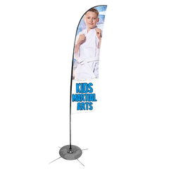 Kids Martial Arts Feather Flag (Concept 2)
