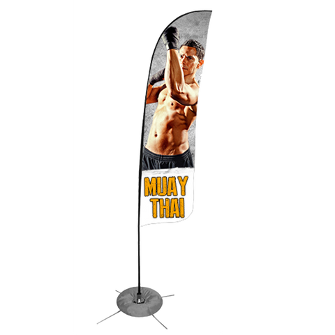 Muay Thai Feather Flag - Concept 1