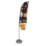 Muay Thai Feather Flag - Concept 2