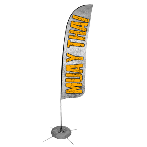 Muay Thai Feather Flag - Concept 3