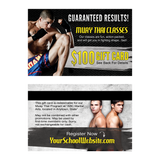 $100 Muay Thai Gift Cards