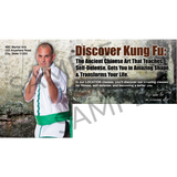"Mens Kung Fu 6""x11"" Postcards"