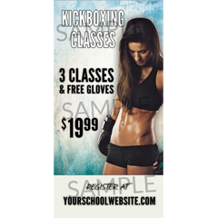 Kickboxing Window Cling