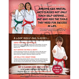 Kids Martial Arts Full Page (Concept 1)