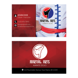 Concept 1- Business Cards- Kung Fu