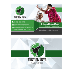 Concept 4- Business Cards- Kung Fu
